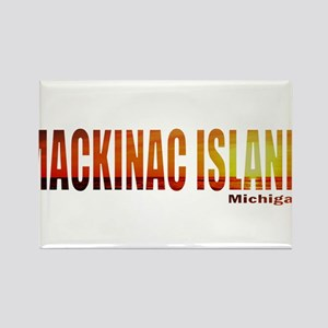 Mackinac Island, Michigan Rectangle Magnet