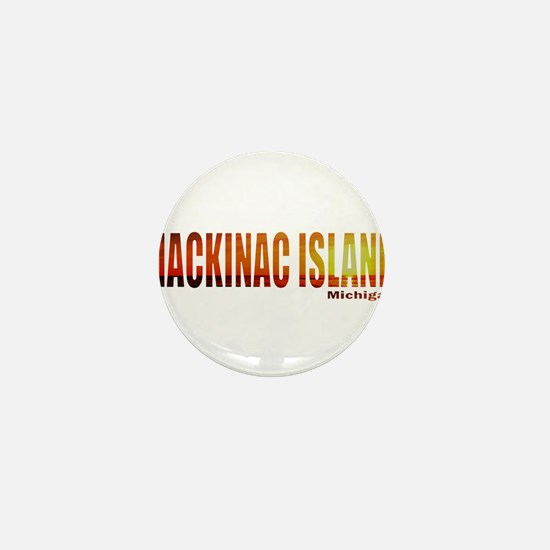 Mackinac Island, Michigan Mini Button