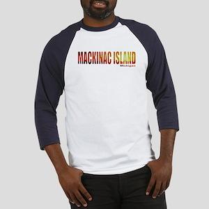 Mackinac Island, Michigan Baseball Jersey