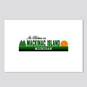 Its Better on Mackinac Island Postcards (Package o