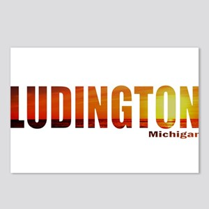 Ludington, Michigan Postcards (Package of 8)