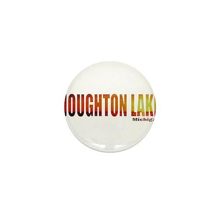 Houghton Lake, Michigan Mini Button