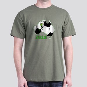 Football World Cup Australia 2018 Dark T-Shirt