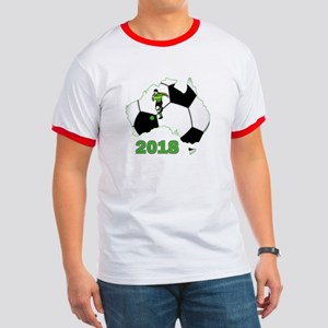 Football World Cup Australia 2018 Ringer T