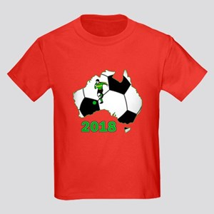 Football World Cup Australia 2018 Kids Dark T-Shir
