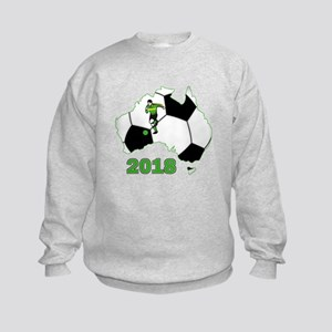 Football World Cup Australia 2018 Kids Sweatshirt
