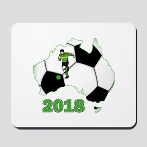 Football World Cup Australia 2018 Mousepad