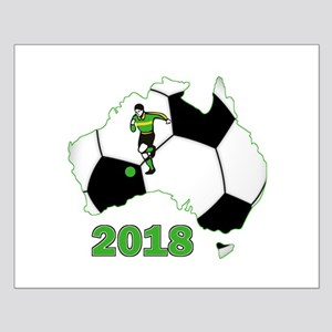 Football World Cup Australia 2018 Small Poster