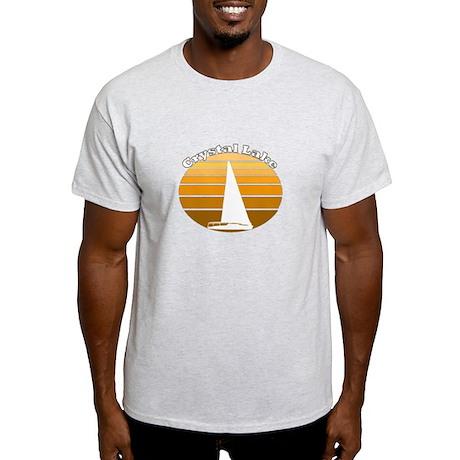 Crystal Lake, Michigan Light T-Shirt