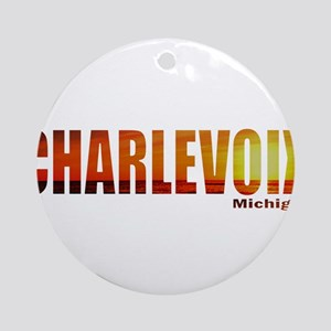 Charlevoix, Michigan Ornament (Round)
