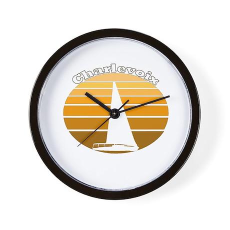 Charlevoix, Michigan Wall Clock
