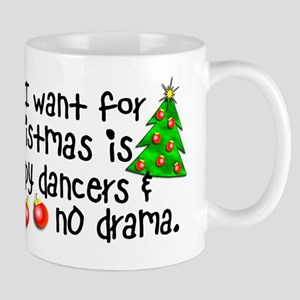 Dance Teacher Christmas Mug