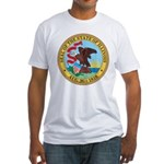 Illinois Seal Fitted T-Shirt
