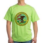 Illinois Seal Green T-Shirt