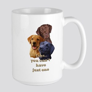 Three Labs Large Mug