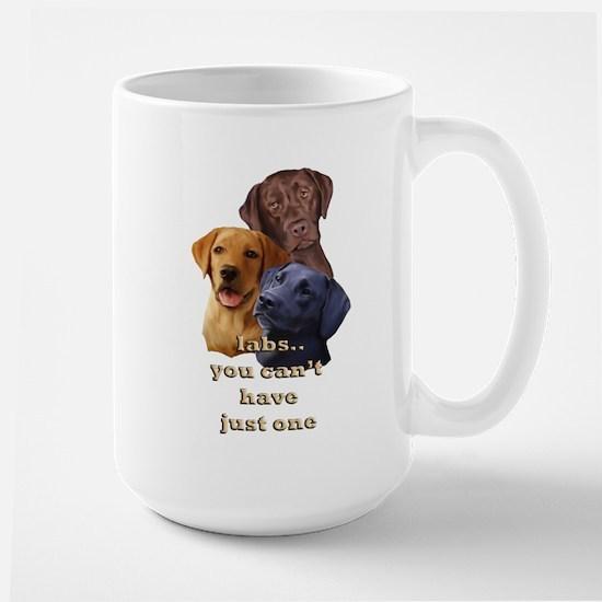 Three Labs Large Mug