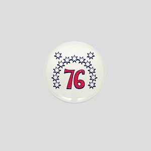 USA 76 Mini Button