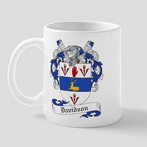 Davidson Family Crest Mug