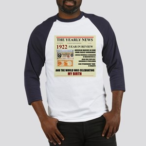 born in 1922 birthday gift Baseball Jersey