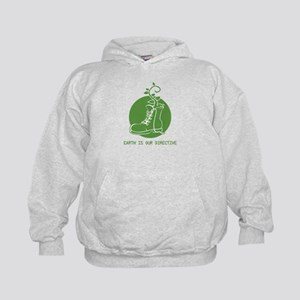 EARTH IS OUR DIRECTIVE Kids Hoodie