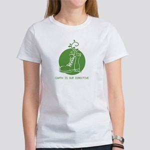EARTH IS OUR DIRECTIVE Women's T-Shirt