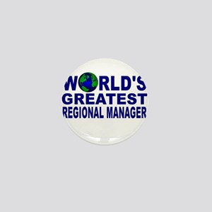 World's Greatest Regional Man Mini Button