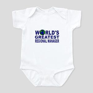 World's Greatest Regional Man Infant Bodysuit