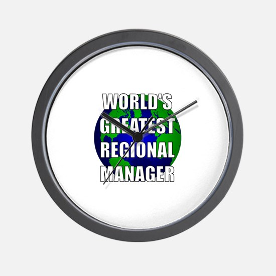 World's Greatest Regional Man Wall Clock