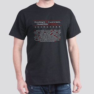 'Baseball Wisdom' Dark T-Shirt