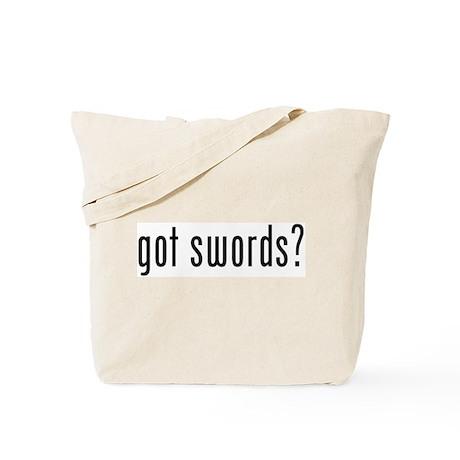 got swords? Tote Bag