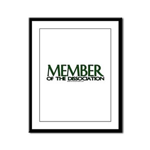 Member Of The Dissociation Framed Panel Print