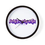 Schizophrenic Wall Clock