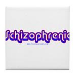 Schizophrenic Tile Coaster