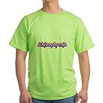 Schizophrenic Green T-Shirt
