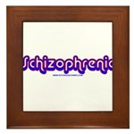 Schizophrenic Framed Tile