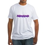 Schizophrenic Fitted T-Shirt