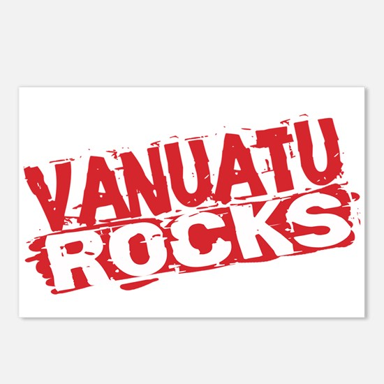 Vanuatu Rocks Postcards (Package of 8)