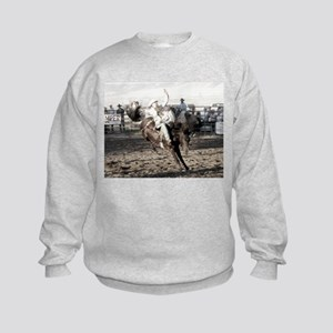 Bucking Bronco Kids Sweatshirt
