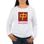ZhongArt Women's Long Sleeve T-Shirt