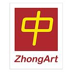 ZhongArt Small Poster