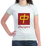 ZhongArt Jr. Ringer T-Shirt