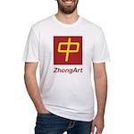 ZhongArt Fitted T-Shirt