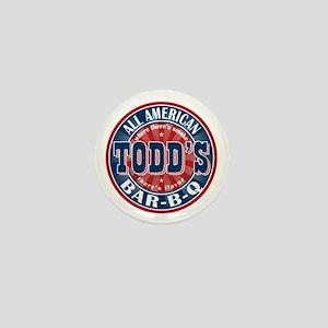 Todd's All American BBQ Mini Button