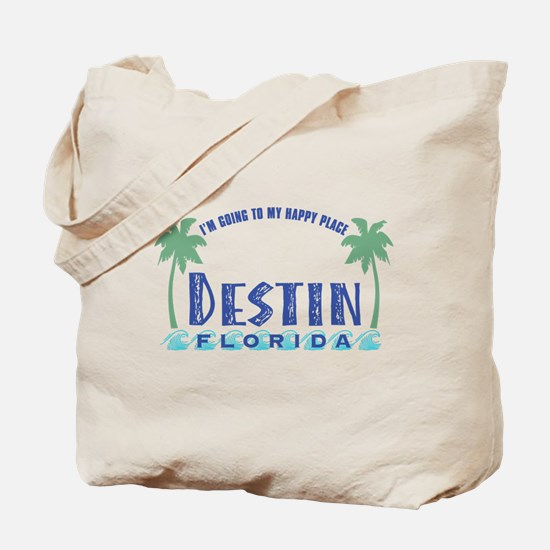 Destin Happy Place - Tote or Beach Bag