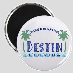 Destin Happy Place - Magnet