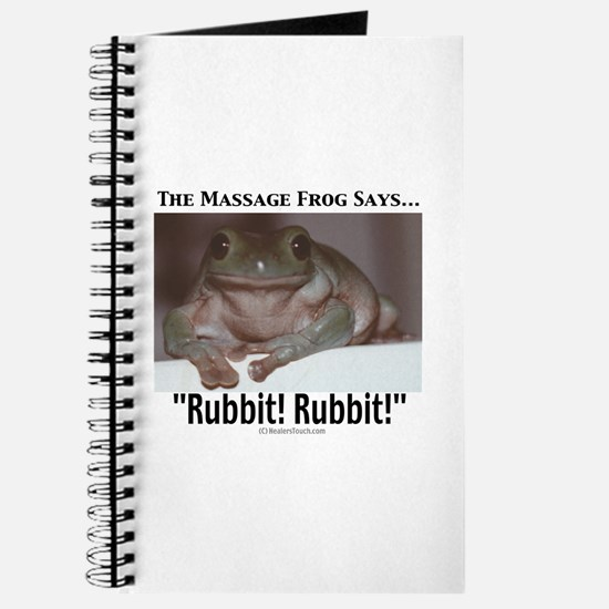Massage Frog Journal