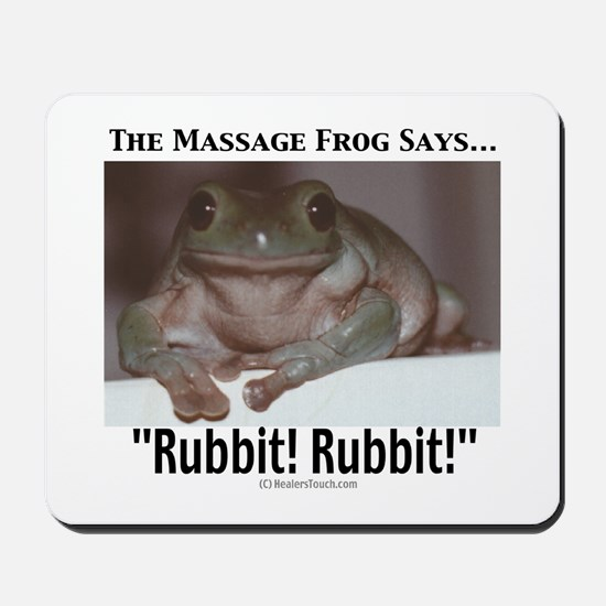 Massage Frog Mousepad