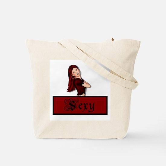 Sexy/Love Tote Bag