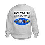 Real Athletes Kids Sweatshirt