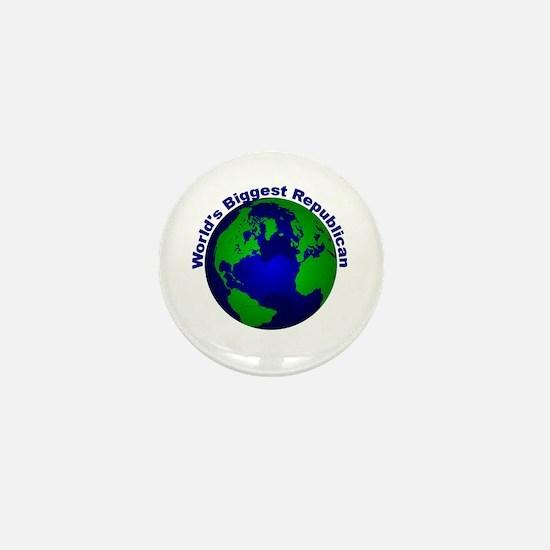 World's Biggest Republican Mini Button
